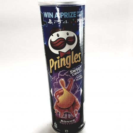 Pringles cu Sweet Chilli0