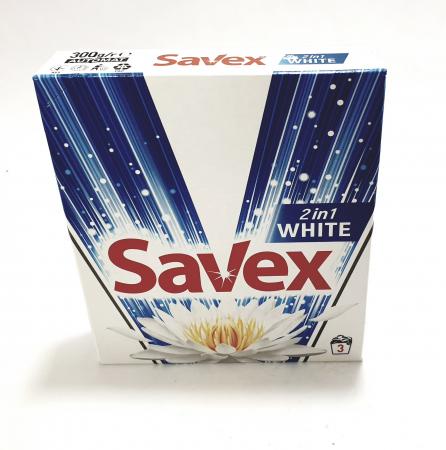 Detergent Savex 2in1 White [0]
