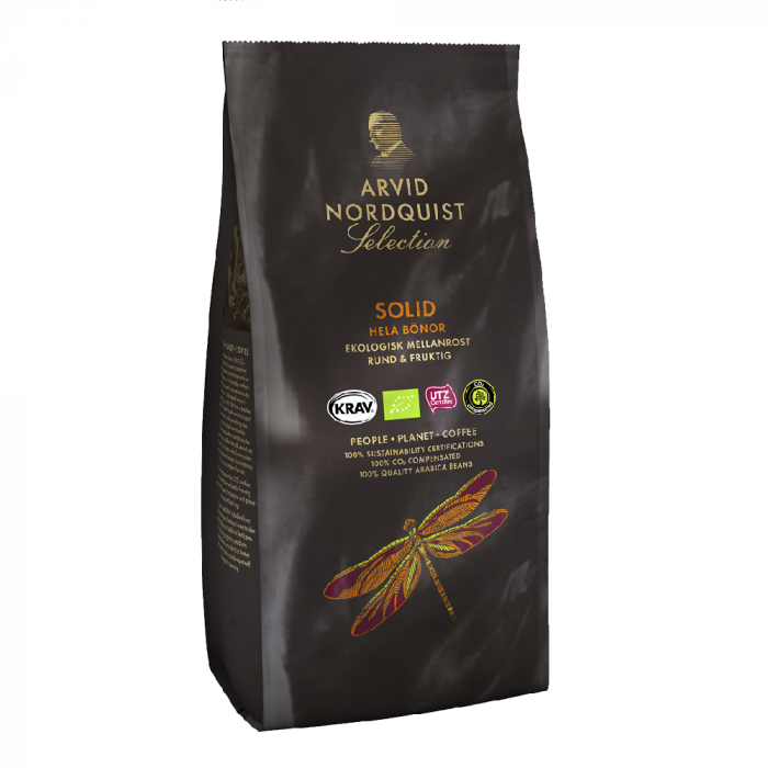Arvid Nordquist Solid cafea boabe 450g [0]