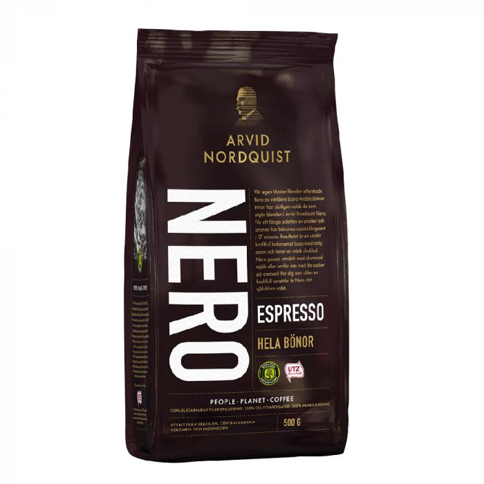 Arvid Nordquist Espresso Nero cafea boabe 500g 0