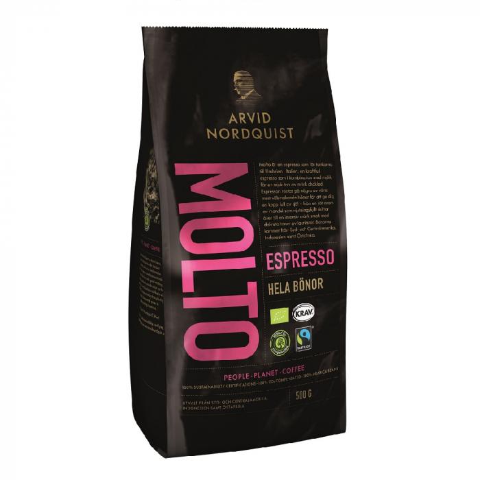 Arvid Nordquist Espresso Molto cafea boabe 500g 0