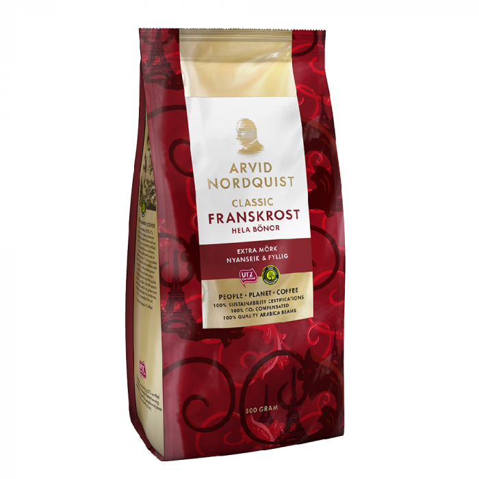 Arvid Nordquist Franskrost cafea boabe 500g [0]