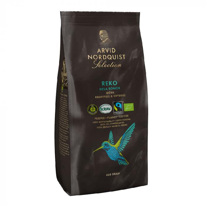 Arvid Nordquist Reko cafea boabe 450g 0