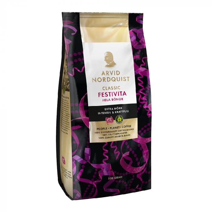 Arvid Nordquist Festivita cafea boabe 500g [0]