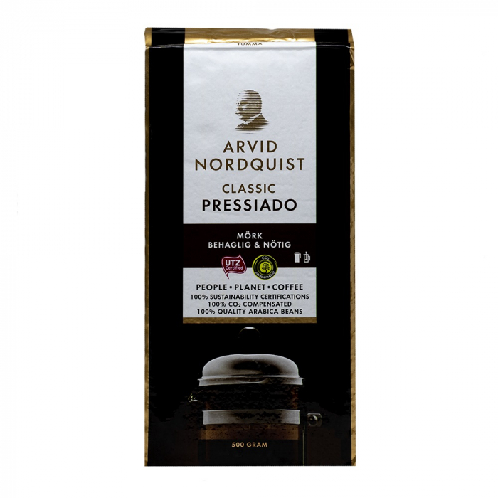 Arvid Nordquist Pressiado cafea macinata 500g 0