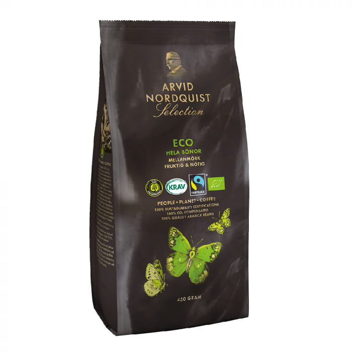 Arvid Nordquist Eco cafea boabe 450g 0