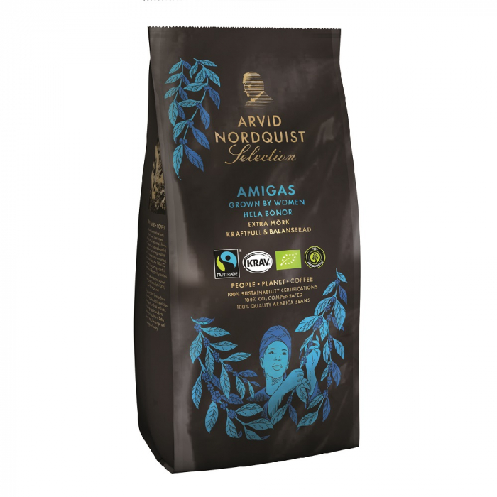Arvid Nordquist Amigas cafea boabe 450g 0