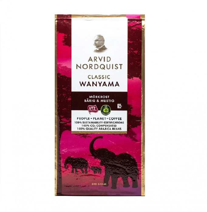 Arvid Nordquist Wanyama cafea macinata 500g 0