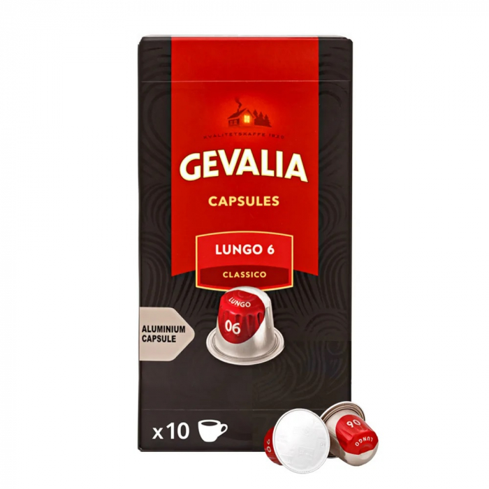 Cafea Gevalia Lungo 6, capsule Nespresso [0]