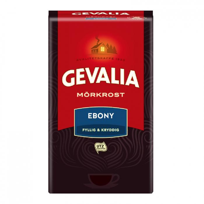 Gevalia Ebony cafea macinata 425g 0