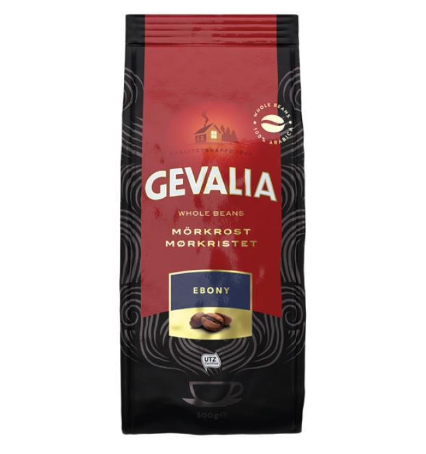 Gevalia Ebony cafea boabe 500g 0