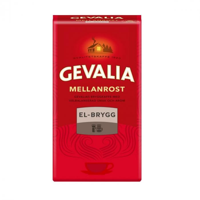 Gevalia Mellanrost El-Brygg cafea macinata 450g 0
