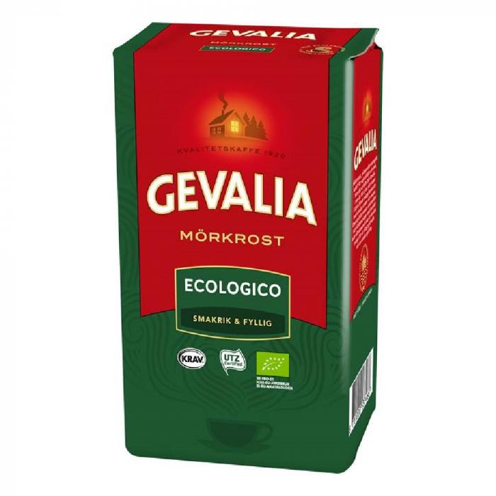 Gevalia Ecologico Morkrost cafea macinata 425g 0