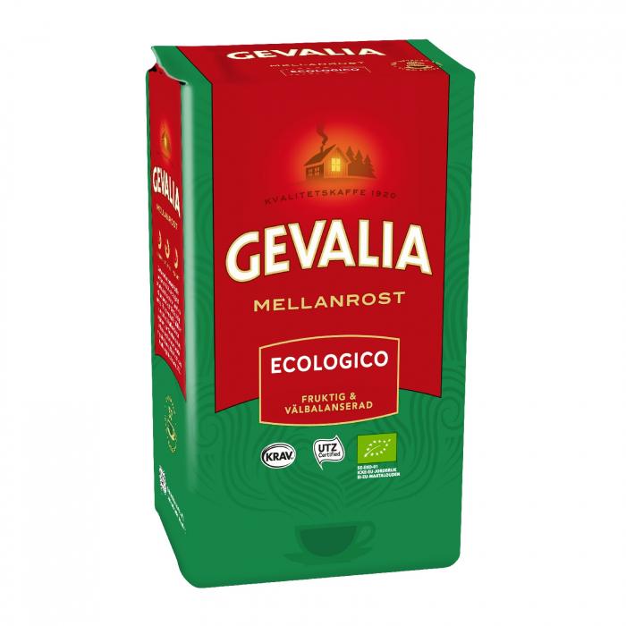 Gevalia Ecologico Mellanrost cafea macinata 425g 0