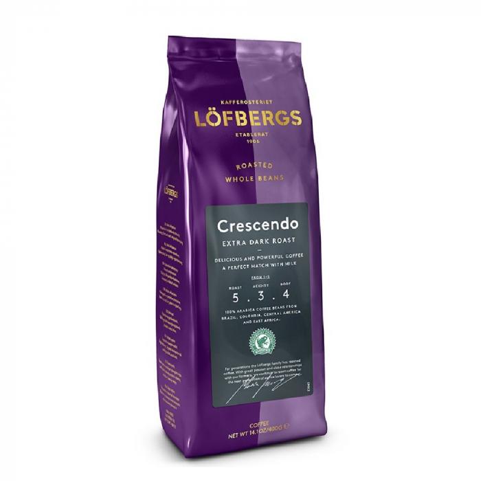 Lofbergs Crescendo cafea boabe 400g 0