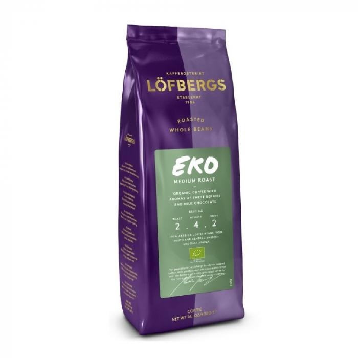 Lofbergs Eko cafea boabe 400g 0