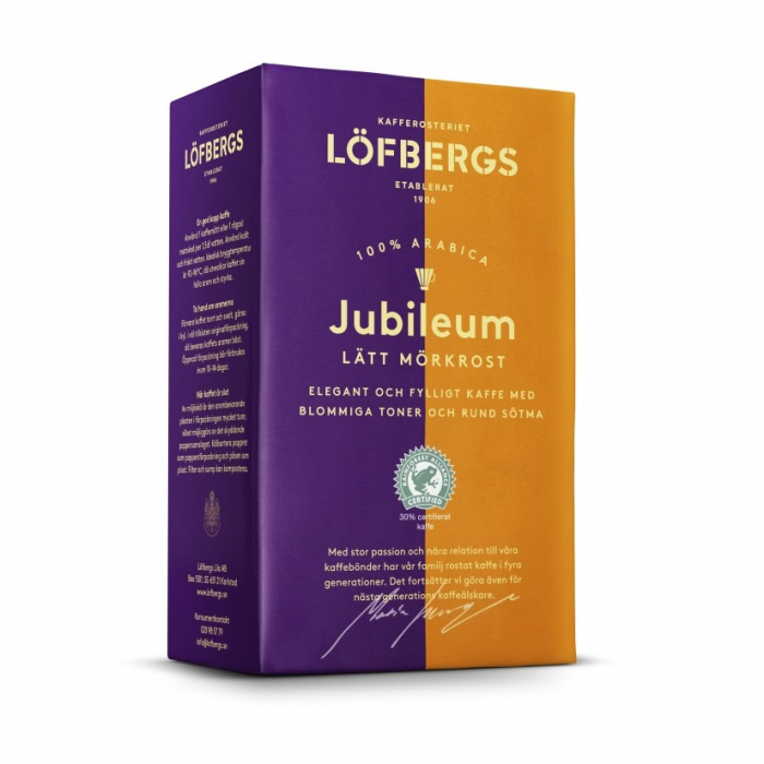 Lofbergs Jubileum cafea macinata 450g [0]