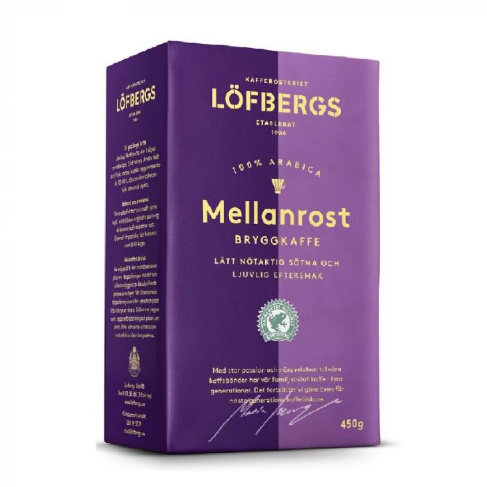 Lofbergs Mellanrost cafea macinata 450g 0