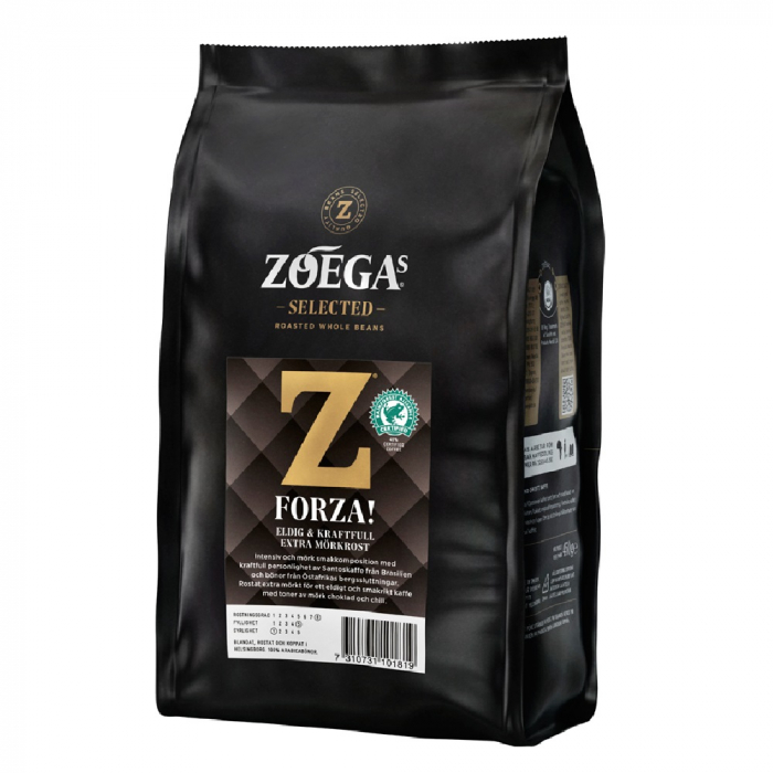 Zoegas Forza cafea boabe 450g 0