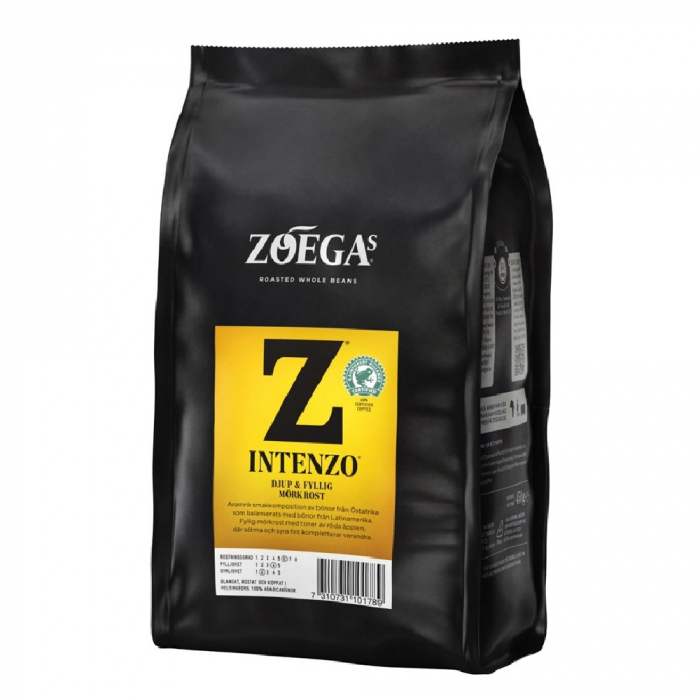 Zoegas Intenzo cafea boabe 450g 0