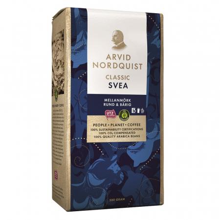 Arvid Nordquist Svea cafea macinata 500g1