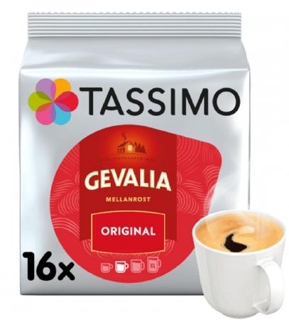 Cafea Gevalia Mellanrost Original, 16 capsule0