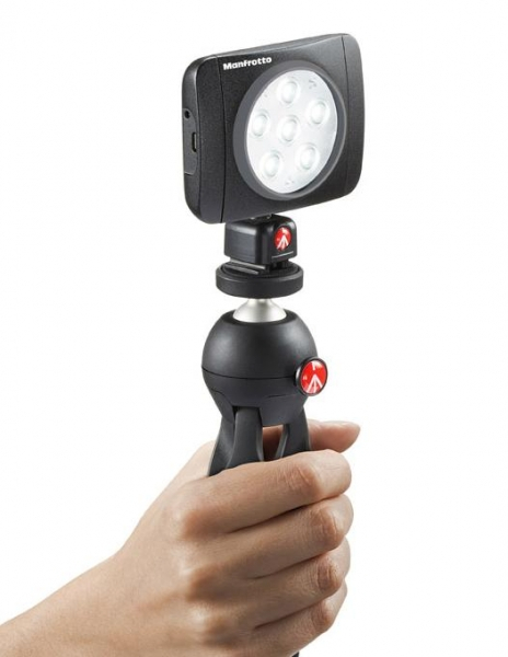 Lampa video, Manfrotto, PowerLED Lumimuse 6 [2]