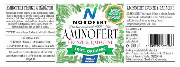 Aminofert - Biostimulator organic [1]