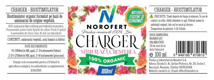 Charger - Biostimulator organic pentru flori [1]
