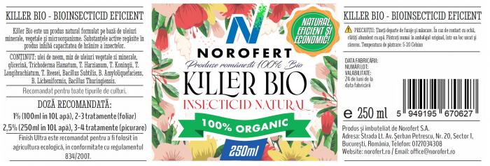 Killer Bio - Biostimulator cu rol insecticid [2]