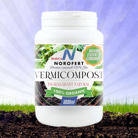 Vermicompost - Ingrasamant natural, puritate 100% [0]