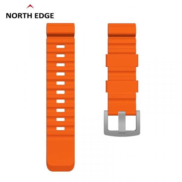 Bratara Silicon North Edge (Portocaliu) 0