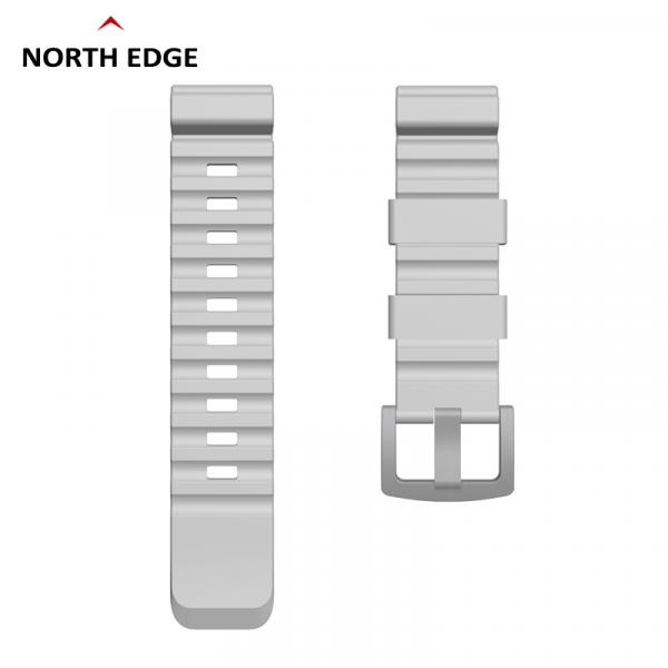 Bratara Silicon North Edge (Gri) 0