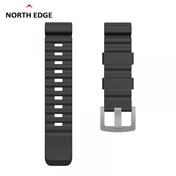 Bratara Silicon North Edge (Negru) 0
