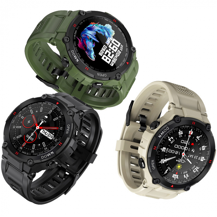 Ceas Multisport Smartwatch FitPro Shock [2]