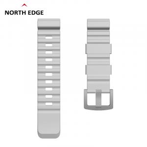 Bratara Silicon North Edge (Gri)0