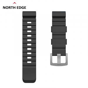 Bratara Silicon North Edge (Negru)0