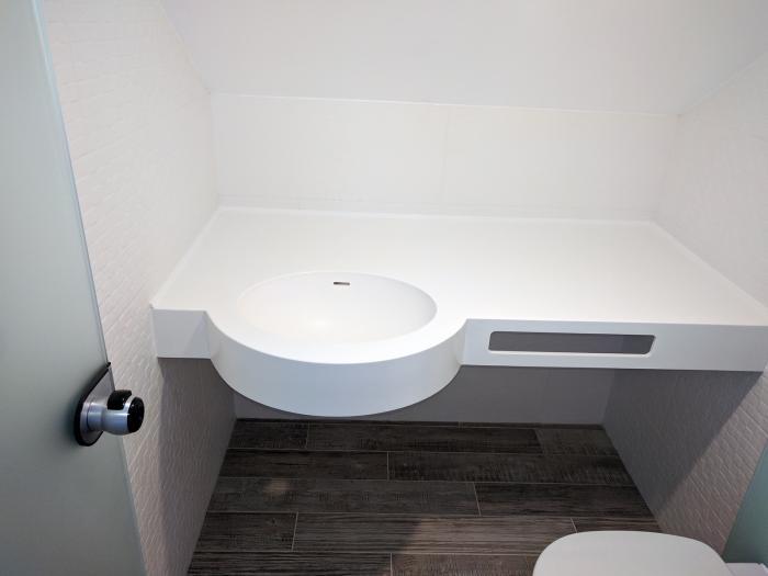 Chiuvetă pentru baie din Corian 1