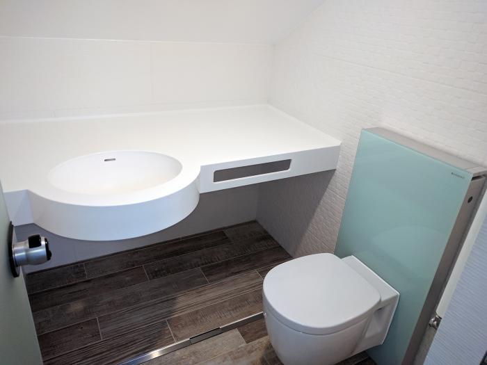 Chiuvetă pentru baie din Corian 3