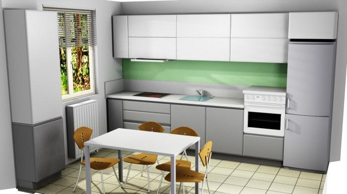 Proiect bucătărie Norvinia Nr-74 0