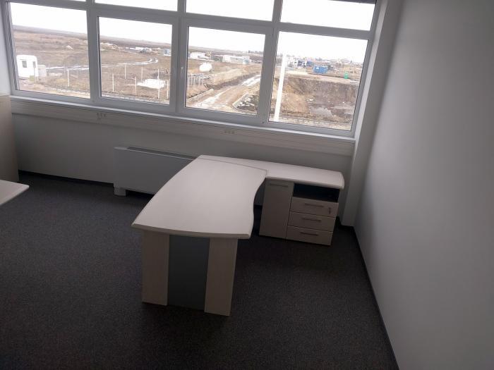 Birou Norvinia Nr-10 cu sertare și masă birou Norvinia 1