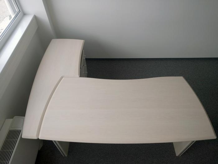 Birou Norvinia Nr-10 cu sertare și masă birou Norvinia 0