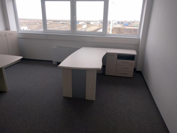 Birou Norvinia Nr-10 cu sertare și masă birou Norvinia 3
