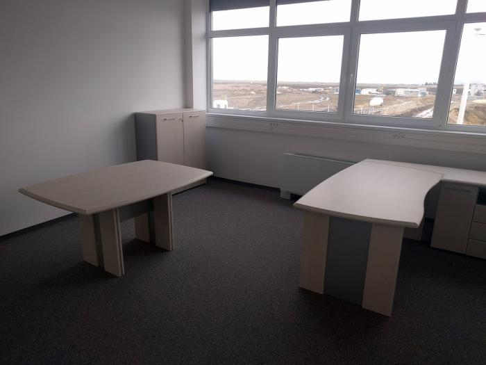 Birou Norvinia Nr-10 cu sertare și masă birou Norvinia 5