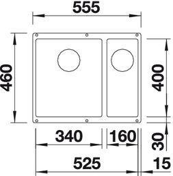 Blanco Subline 340/160-U 2