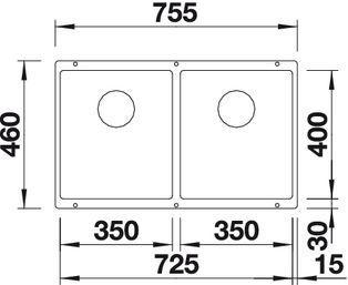 Blanco Subline 350/350-U 3