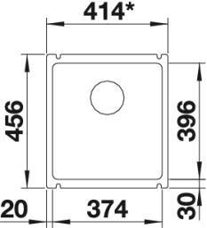 Blanco Subline 375-U 2