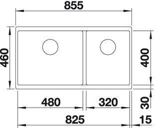 Blanco Subline 480/320-U 2