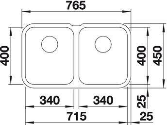 Blanco Supra 340/340-U 2