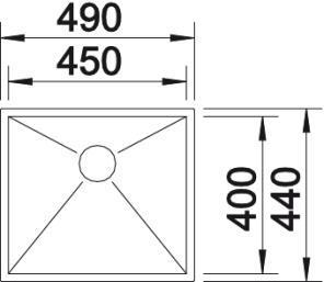 Blanco Zerox 450-U [2]